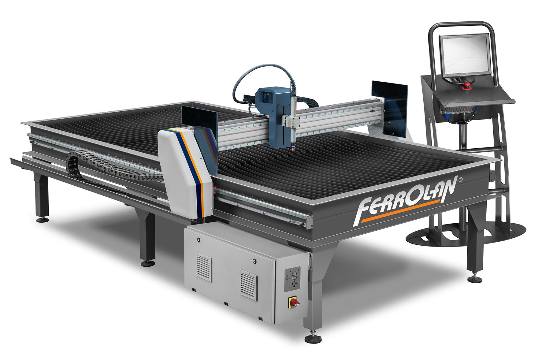 Compacta Ferrolan - Máquina Plasma CNC