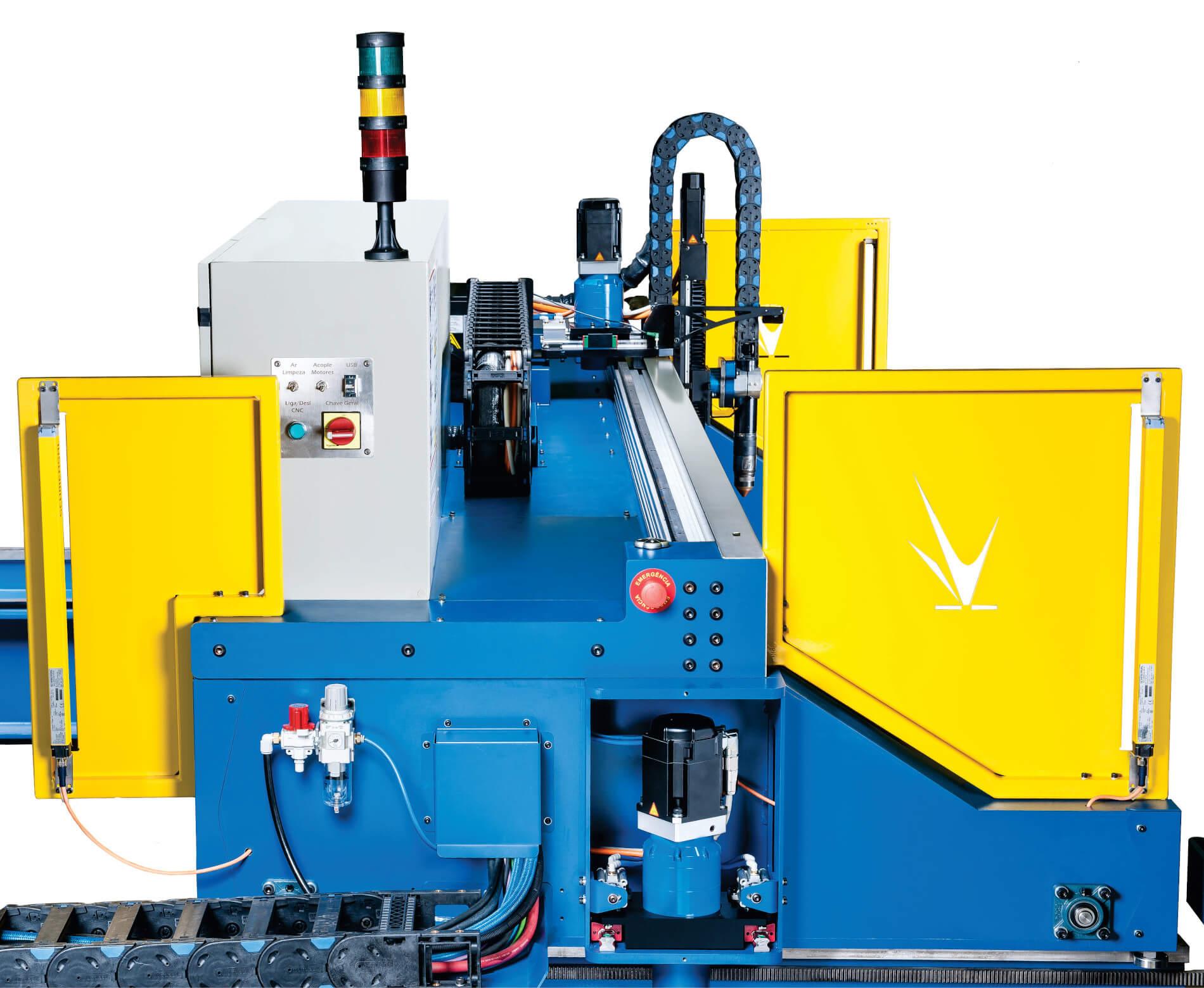 Sistema Barreiras LineaCord - Plasma CNC